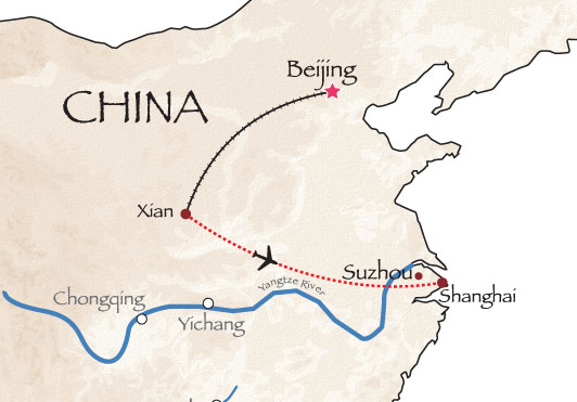 Great Wall Of China Map View.China Now Map Interasia Travel Travel Exotic Asia With Us